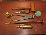 Replica .50cal. ca.1850 English Gentlemen`s Dueling pistol Cased Set - 7 of 8