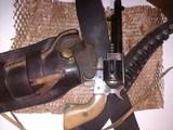 "belgian made, COWBOY RANGER,38sp, & 38lc,with vintage ""Heiser"" belt and holster - 11 of 15"