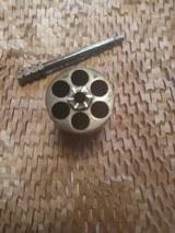 "belgian made, COWBOY RANGER,38sp, & 38lc,with vintage ""Heiser"" belt and holster - 5 of 15"
