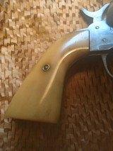 "belgian made, COWBOY RANGER,38sp, & 38lc,with vintage ""Heiser"" belt and holster - 9 of 15"