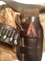 "belgian made, COWBOY RANGER,38sp, & 38lc,with vintage ""Heiser"" belt and holster - 3 of 15"