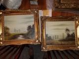 Original oil on canvas, game birds (ducks / pheasant), pair, English countryside