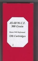 .45-60 W.C.F. Buffalo Arms Full Box (20) Cartridges