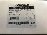 Leupold Mark 6 1-6x20mm With M6C1 Dial System, CMR-W 7.62 with Illuminated Reticle and Matte Finish. - 3 of 3
