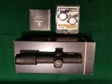 Leupold Mark 6 1-6x20mm With M6C1 Dial System, CMR-W 7.62 with Illuminated Reticle and Matte Finish. - 2 of 3