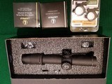 Leupold Mark 6 1-6x20mm With M6C1 Dial System, CMR-W 7.62 with Illuminated Reticle and Matte Finish. - 1 of 3