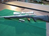 Remington 700 Stainless 300 WM With Burris Fullfield 3.5-10x50 Scope