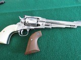 Ruger Old Army Stainless Engraved Black Powder Revolver
