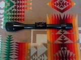 German manufactured Weatherby 6 power scope