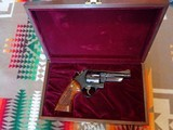 Engraved Model 29,4 inchSmith & Wesson 44 magnum revolver