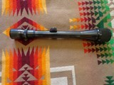 Weaver 3 X 9 scope made in El Paso