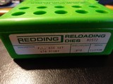 A set of Redding reloading dies for 416 Rigby caliber