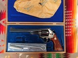 Smith & Wesson Model 29-2, 44 Magnum caliber,83/8 in barrel in bright blue cased in theoriginalpresentation case with the tools