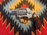 Fully Engraved Smith & Wesson model 60 snub nose