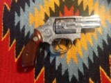 Fully Engraved Smith & Wesson model 60 snub nose - 2 of 6