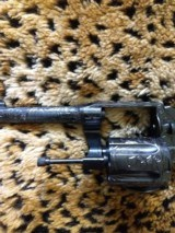 Colt Police Positive 38 Special, Fully Engraved, like new condition - 5 of 9