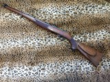 Custom full length Mannlicher stock Ruger