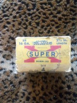 Winchester Super X,collectible16 gauge ammo - 1 of 4