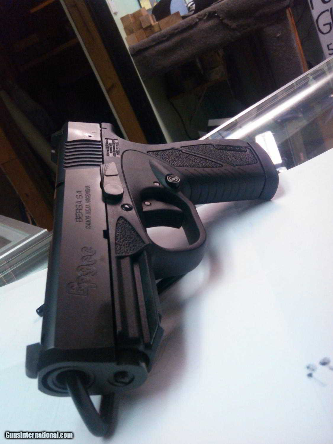 Bersa BP9CC 9 mm pistol concealed carry for sale