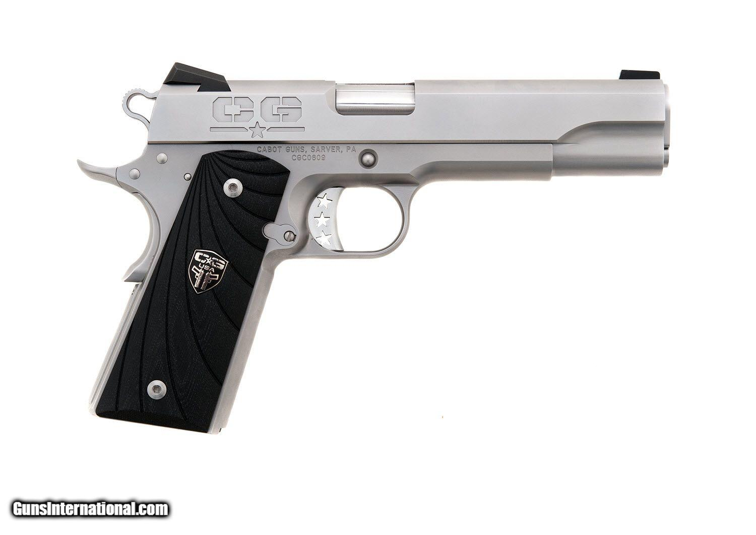 Cabot Gun Company - S100 Naked 1911 45 acp for sale