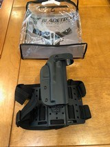 Blade-Tech WRS Level II Duty Holster Thigh Rig Black RH Fits Glock 17/22/31