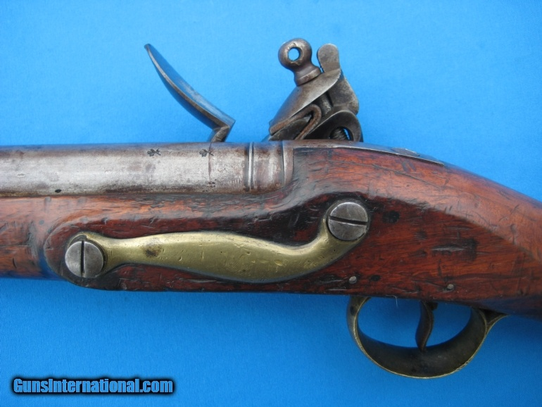 British Flintlock Officer's Fusil circa 1776 Export .65 ...