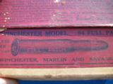 Winchester Model 94 .30 Full Patch 2 pc. Cartridge Box Full circa 1915 - 9 of 12
