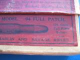 Winchester Model 94 .30 Full Patch 2 pc. Cartridge Box Full circa 1915 - 3 of 12