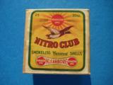 UMC Nitro Club 20 Gauge 2 pc. Box Full & Sealed