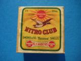 UMC Nitro Club 20 Gauge 2 pc. Box Full & Sealed