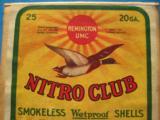 UMC Nitro Club 20 Gauge 2 pc. Box Full & Sealed - 10 of 11