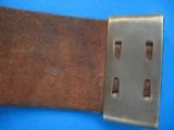 Civil War U.S. Buckle & Belt Original circa 1861 - 10 of 13