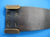 Civil War U.S. Buckle & Belt Original circa 1861 - 7 of 13