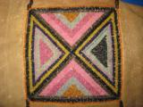 Mandan Sioux Beaded Tobacco Bag circa 1900 Original - 2 of 10