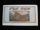 A.H. Fox Shotguns 1922 Original Catalog w/price list - 1 of 15