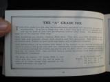 A.H. Fox Shotguns 1922 Original Catalog w/price list - 14 of 15