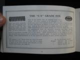 A.H. Fox Shotguns 1922 Original Catalog w/price list - 13 of 15