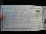 A.H. Fox Shotguns 1922 Original Catalog w/price list - 12 of 15