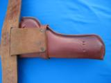 Heiser Tooled Gun Belt & Holster for S&W K38 - 12 of 13