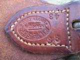 Heiser Tooled Gun Belt & Holster for S&W K38 - 4 of 13