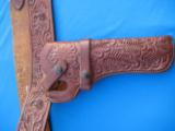 Heiser Tooled Gun Belt & Holster for S&W K38 - 2 of 13
