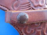 Heiser Tooled Gun Belt & Holster for S&W K38 - 7 of 13