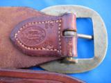 Heiser Tooled Gun Belt & Holster for S&W K38 - 3 of 13