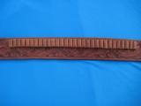 Heiser Tooled Gun Belt & Holster for S&W K38 - 10 of 13