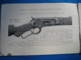 Winchester Highly Finished Arms Catalog circa 1897 Original - 5 of 15