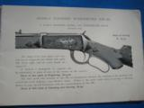 Winchester Highly Finished Arms Catalog circa 1897 Original - 8 of 15