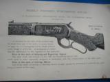 Winchester Highly Finished Arms Catalog circa 1897 Original - 6 of 15