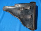 German P08 Police Luger Holster 1933 w/matching Tool Rare - 2 of 12