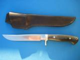 Paul LeBatard Custom Hunter Knife w/LeBatard sheath 7 - 1 of 11
