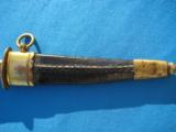 Naval Dirk w/scabbard circa 1820 - 4 of 10